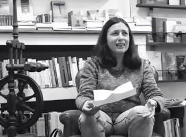 Con Janet Rudman, lectora multifacética y apasionada