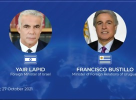 El Canciller israelí invita a su par uruguayo Bustillo a visitar Israel