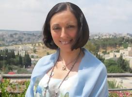Con la escritora iraní Marina Nemat, testigo del horror